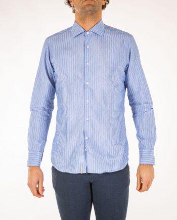 camicia-rigata-cotone-uomo-Tintoria-Mattei