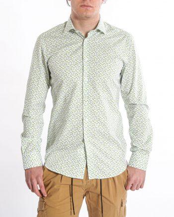 camicia-sportiva-fiorellino-verde-West-Coast