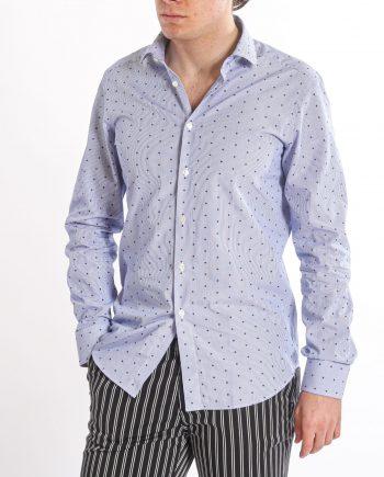 uomo-camicia-fiorellino-stampato-West-Coast