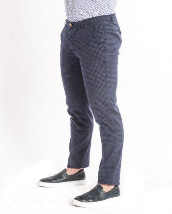 pantaloni-cotone-piè de poule-uomo-NO-LAB